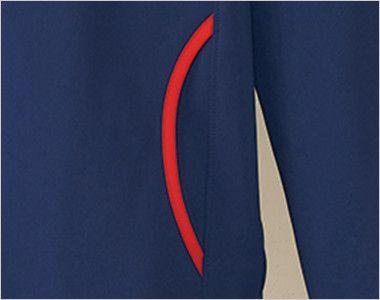 UZL1023 ルコック ジャージ ジャケット(男女兼用) ポケット付き
