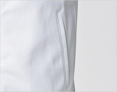 UZL1026 ルコック ジャージ ジャケット(男女兼用) ポケット付き
