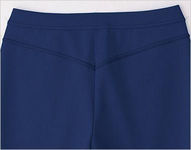 UZL2012 ルコック ジャージ ブーツカットパンツ (女性用)スポーティなサイドライン ヨーク切り替えでスマートヒップ