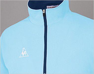 UZL3015 ルコック ジップポロシャツ(男女兼用) 着脱が容易で、スピーディーな体温調節も可能