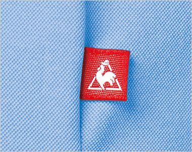 UZL3020 ルコック ドライ ボタンダウンポロシャツ(女性用) ピスネーム付き