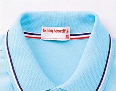 UZL3021 ルコック ライン ドライポロシャツ(男女兼用) 見えないところにもお洒落心を添える襟伏せテープ