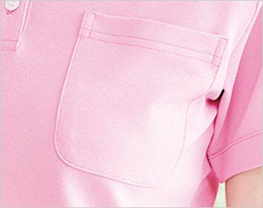 UZL3029 ルコック ボタンダウンポロシャツ(男女兼用) ポケット付き