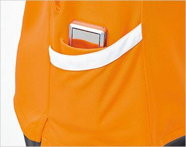 UZL3032 ルコック ニットポロシャツ(男女兼用) 収納力を高めるダブルポケット付き