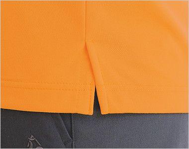 UZL3032 ルコック ニットポロシャツ(男女兼用) スリットで動きをサポート