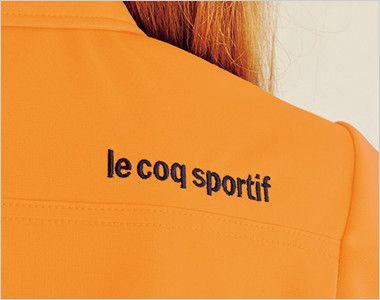 UZL3032 ルコック ニットポロシャツ(男女兼用) 映えるロゴ付き