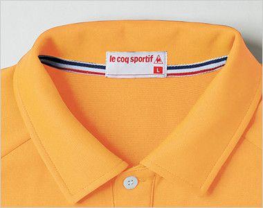 UZL3041 ルコック ニット ポロシャツ(男女兼用) トリコロールカラーの襟伏せテープがアクセントに