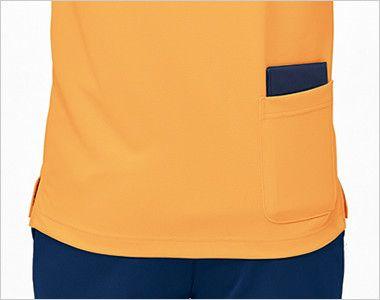 UZL3041 ルコック ニット ポロシャツ(男女兼用) 使いやすさにこだわった後ろポケット付き