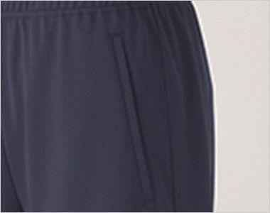 UZL4011 ルコック ハーフパンツ(男女兼用) ポケット