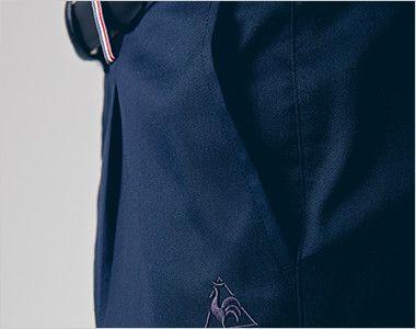 UZL4028 ルコック ジャージ ワンタックスラックスパンツ(女性用) ポケット