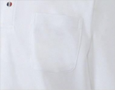 UZL8029 ルコック 長袖ドライポロシャツ(男女兼用) ポケット