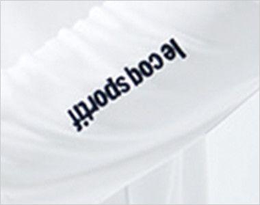UZL8029 ルコック 長袖ドライポロシャツ(男女兼用) ロゴがアクセント