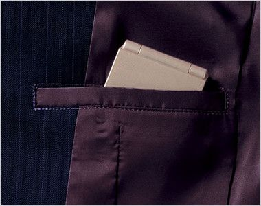 BONMAX AJ0224 アウトラストI [通年]ジャケット(1つボタン) ストライプ 内ポケット