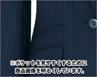 BONMAX AJ0224 アウトラストI [通年]ジャケット(1つボタン) ストライプ チェンジポケット付き