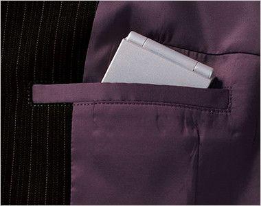 BONMAX AJ0226 [通年]アウトラスト2 ジャケット ストライプ 内ポケット
