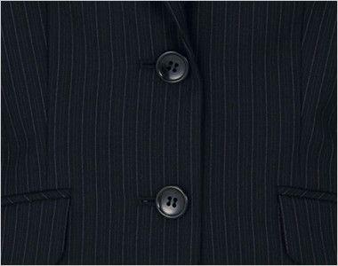 BONMAX AJ0226 [通年]アウトラスト2 ジャケット ストライプ ボタン部分