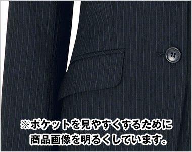 BONMAX AJ0226 [通年]アウトラスト2 ジャケット ストライプ フラップポケット付き