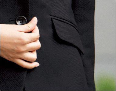 BONMAX AJ0227 [通年]エターナル ジャケット(2つボタン)  無地 フラップポケット付き