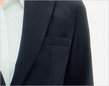 BONMAX AJ0232 [通年]エクセラ ジャケット 無地 お手入れ簡単 ポケット付き
