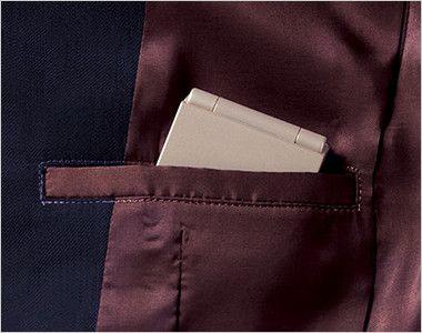 BONMAX AJ0232 [通年]エクセラ ジャケット 無地 お手入れ簡単 内ポケット