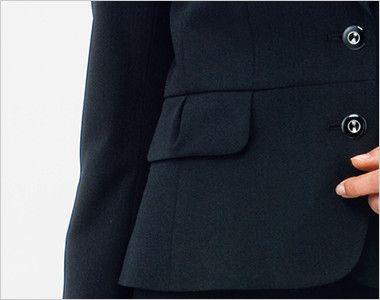 BONMAX AJ0232 [通年]エクセラ ジャケット 無地 お手入れ簡単 フラップポケット付き