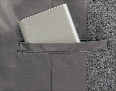 BONMAX AJ0235 [通年]アドレ ジャケット 無地 内ポケット
