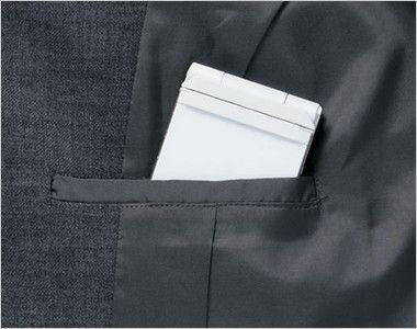 BONMAX AJ0236 [通年]セゾン ジャケット  無地 消臭加工付き 内ポケット