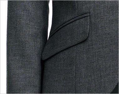 BONMAX AJ0236 [通年]セゾン ジャケット  無地 消臭加工付き フラップポケット付き