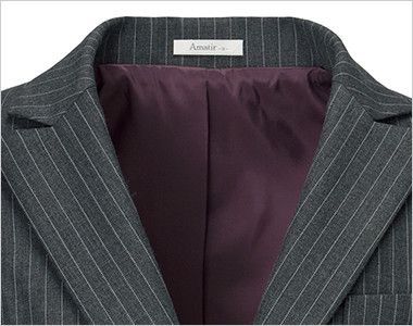 BONMAX AJ0237 ベガ 5つの優れた機能付き!寒色系のピンストライプのジャケット 裏地部分