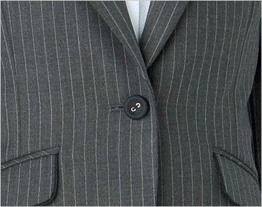 BONMAX AJ0237 ベガ 5つの優れた機能付き!寒色系のピンストライプのジャケット ボタン部分
