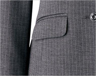BONMAX AJ0240 [通年]アウトラストA ジャケット ストライプ フラップポケット付き
