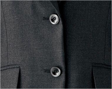 BONMAX ジュビリー [通年]抗菌防臭加工のジャケット 無地 ボタン部分