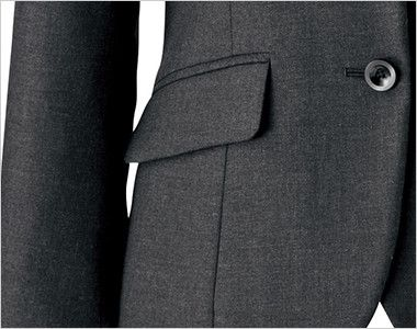 BONMAX ジュビリー [通年]抗菌防臭加工のジャケット 無地 フラップポケット付き