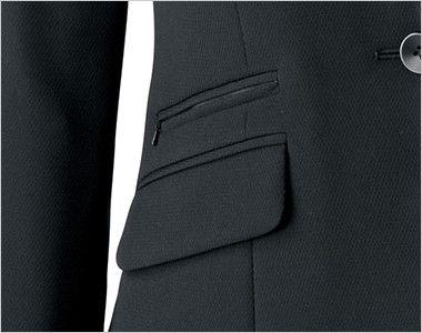 BONMAX AJ0242 [通年]インプレス ストレッチジャケット 無地 フラップポケット付き