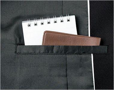 BONMAX AJ0242 [通年]インプレス ストレッチジャケット 無地 内ポケット付き