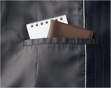 BONMAX AJ0244 [通年]プログレス ジャケット ストライプ[温度調整機能素材] 内ポケット