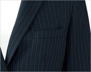 AJ0245 BONMAX/リアン ジャケット(2つボタン)  ストライプ ポケット付き