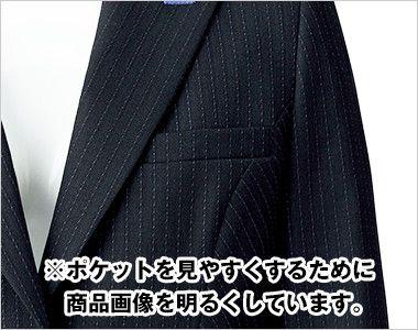 BONMAX AJ0247 [通年]オピニオン ストライプジャケット ポケット付き