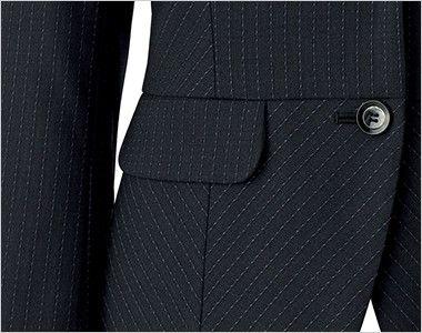BONMAX AJ0247 [通年]オピニオン ストライプジャケット フラップポケット付き