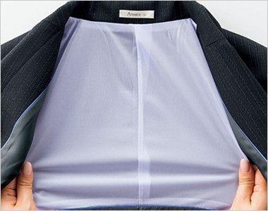 BONMAX AJ0247 [通年]オピニオン ストライプジャケット ストレッチ性の高い背裏生地
