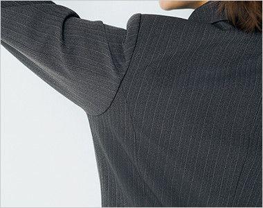 BONMAX AJ0249 [通年]リゲル ジャケット カラーストライプ 動きやすい袖のパターン設計