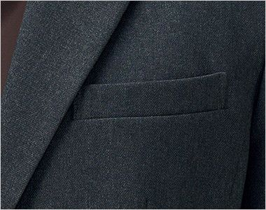 AJ0260 BONMAX/トラッドパターン ジャケット 無地 メモ帳が入る深さの内ポケット付き