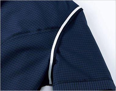 BONMAX AJ0831 [春夏用]ケイティー オーバーブラウス チェック スカーフ付き 消臭テープ