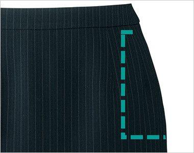 BONMAX AS2285 [通年]リアン タイトスカート ストライプ ポケット付き
