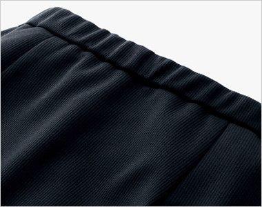 BONMAX AS2301 [通年]ハウンドトゥースニット セミタイトスカート ニット 無地 ウエストゴム