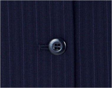 BONMAX AV1229 [通年]アウトラストI ベスト ストライプ ボタン部分