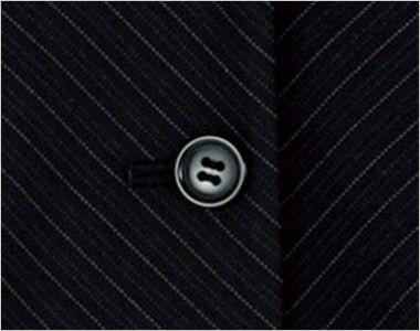 BONMAX AV1230 [通年]アウトラスト2 ベスト ストライプ ボタン部分