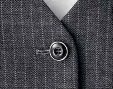 [在庫限り/返品交換不可]BONMAX AV1244 [通年]アウトラストA ベスト ストライプ ボタン部分