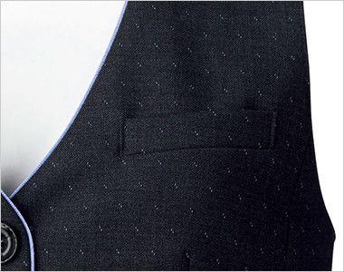 BONMAX AV1252 [通年]ディライト ベスト ドット ポケット付き