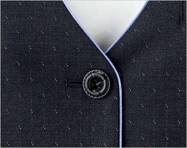 BONMAX AV1252 [通年]ディライト ベスト ドット ボタン部分